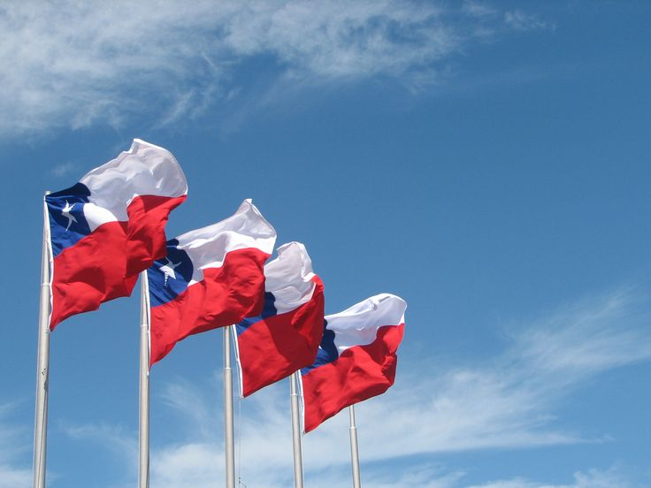 Chilean flags