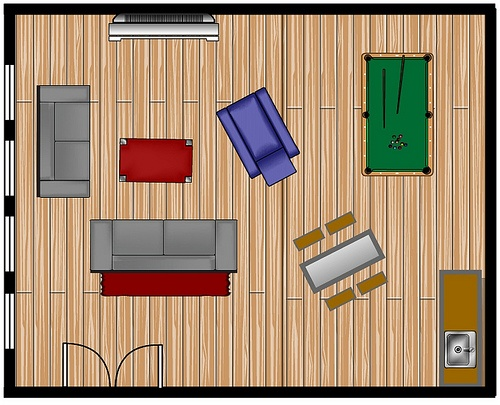 Basement Remodel Plan