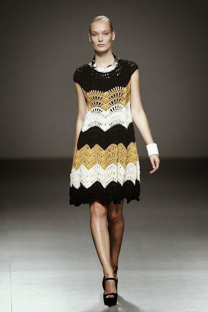 Crochetemoda: Vogue - Crochet