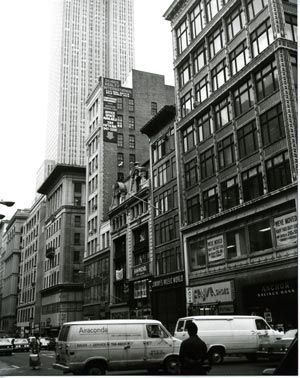 Warhol, New York City, gelatin silver print