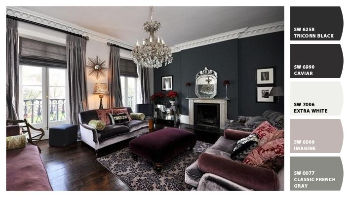 Maybe Caviar For Main Dining Room Wall And Classic French Gray For The Rest And Living Room