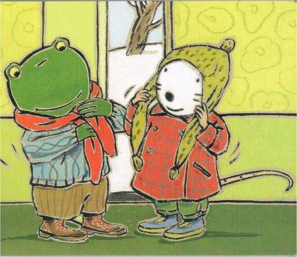 Nellie & Cezar met sjaal en muts