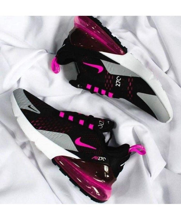 Air Max 270 Women S Fuchsia Wolf Grey Black Trainer Cheap Uk