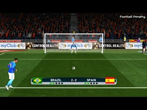 Brazil vs Spain | Penalty Shootout | PES 2017 Gameplay