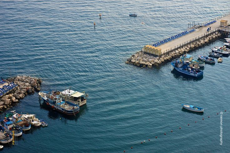 Little harbour in Sorrento, Italy