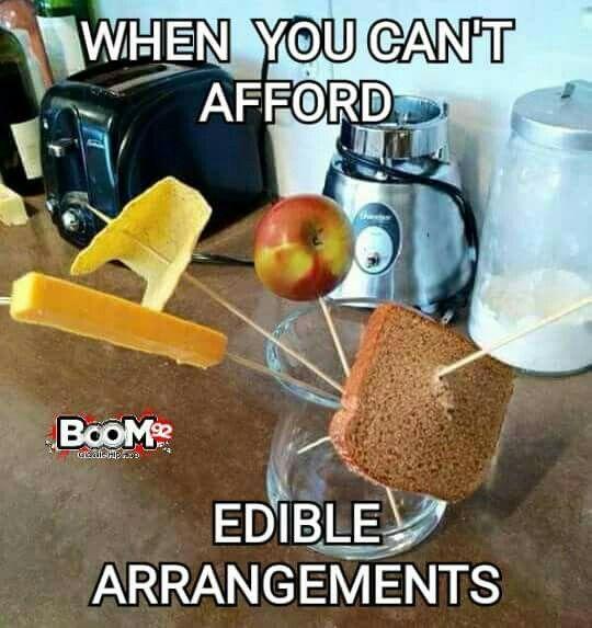 Redneck edible arrangement