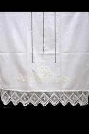 cortinas de lino y ganchillo buscar con google
