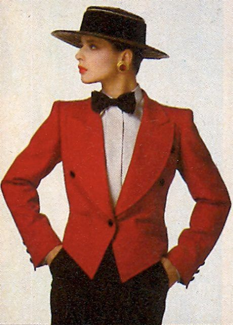 Isabella Rossellini - Mannish Style and Queer Fashion Icon
