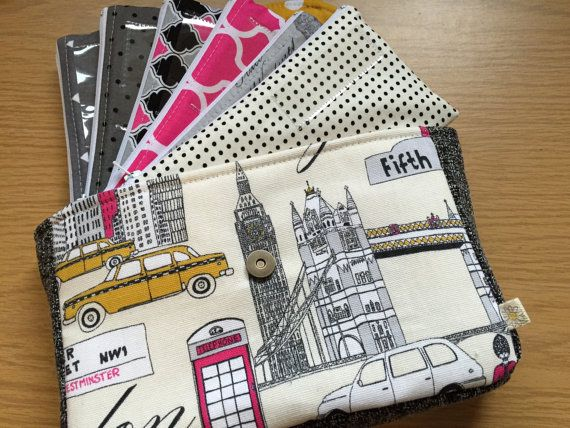 Cash Envelope Wallet Cash Budgeting System by daisylanedesign