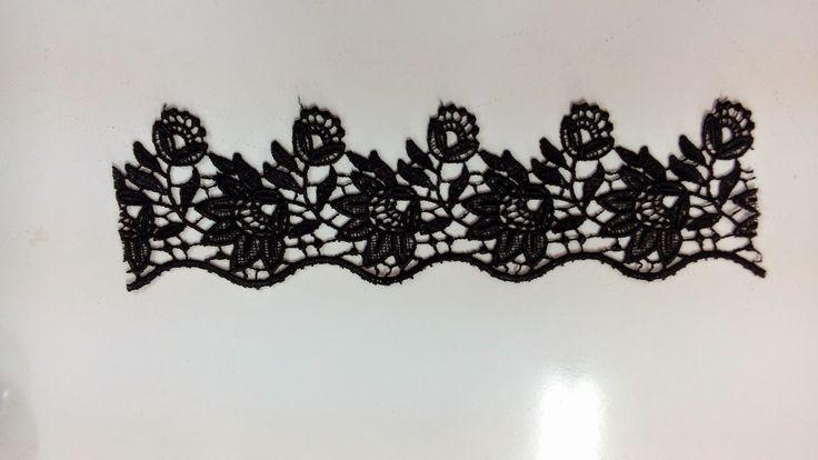 Magbel' in Blogu: Siyah Dantel Detaylı Beyaz Gömleğim