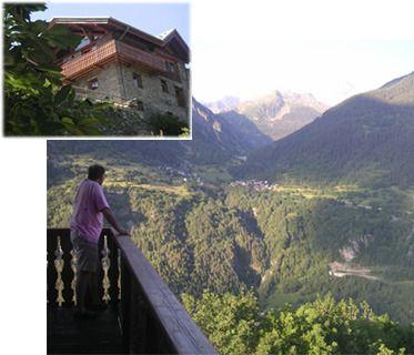 Bourg-Saint-Maurice Villa rental: Villa Les Arcs France:: Luxury Summer Villa - Large Villa in Alps