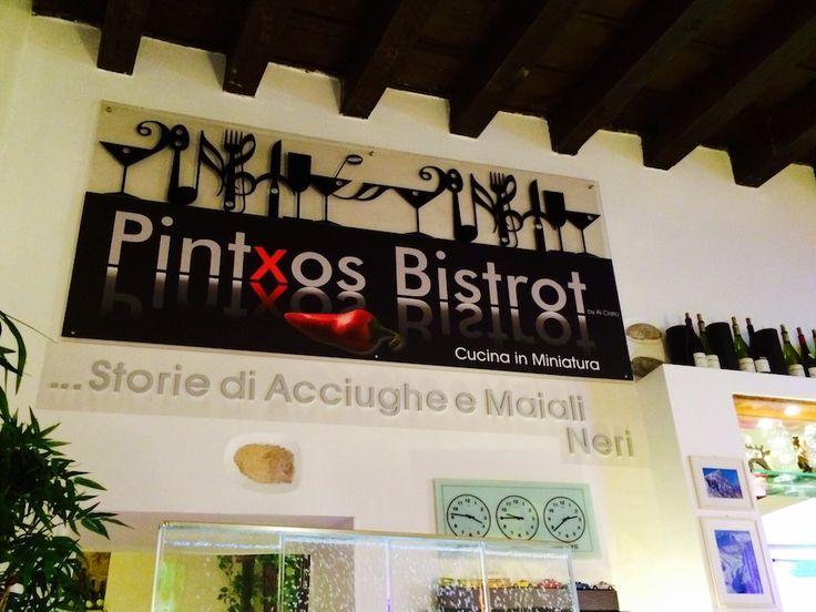 Pintxos Bistrot .. Storie di Acciughe e Maiali Neri ..   #pintxos #cocinaenminiatura #unmondodascoprire