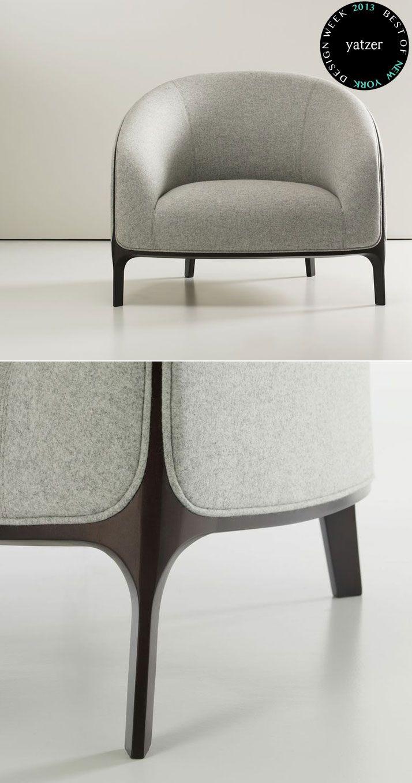 Catherine armchair by Noé Duchaufour-Lawrance for Bernhardt Design.