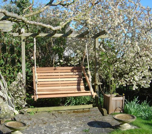 The 25 Best Garden Swing Seat Ideas On Pinterest Mediterranean Hanging Chairs Arbor Ideas