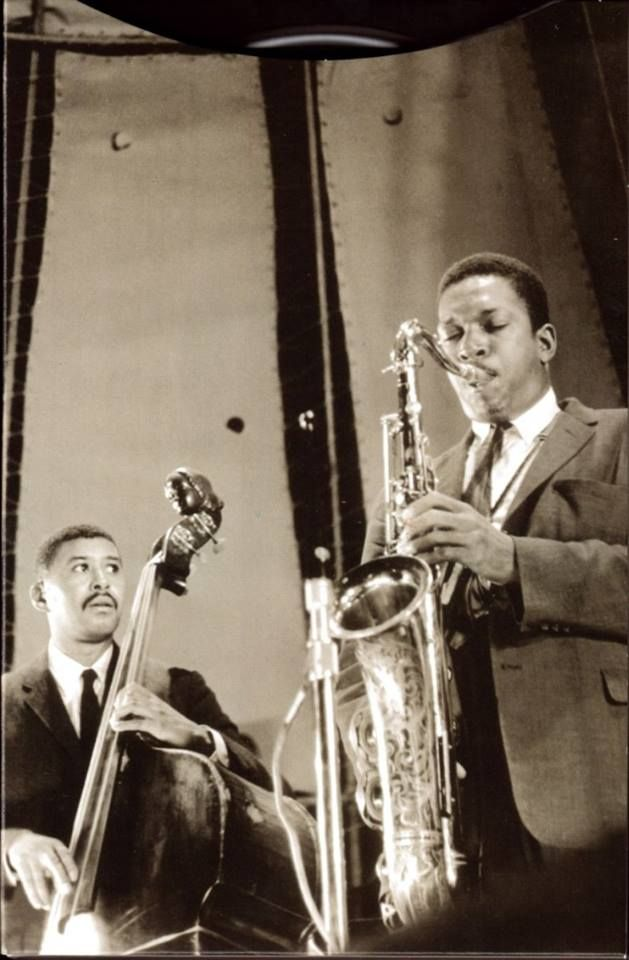 John Coltrane & Paul Chambers with the Miles Davis Quintet