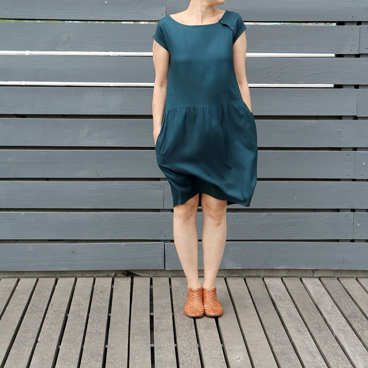Idoia dress I Nanöo patterns I Jolies bobines