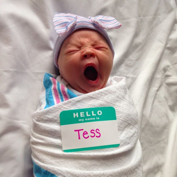 Cool Newborn Name Tag | 10 Precious Baby Announcements - Tinyme Blog