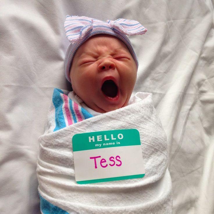 Newborn photos in hospital