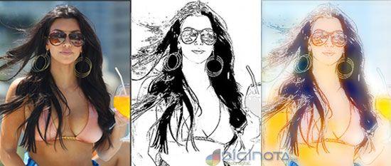 Fotos a caricaturas o dibujos gratis, facil y rapido