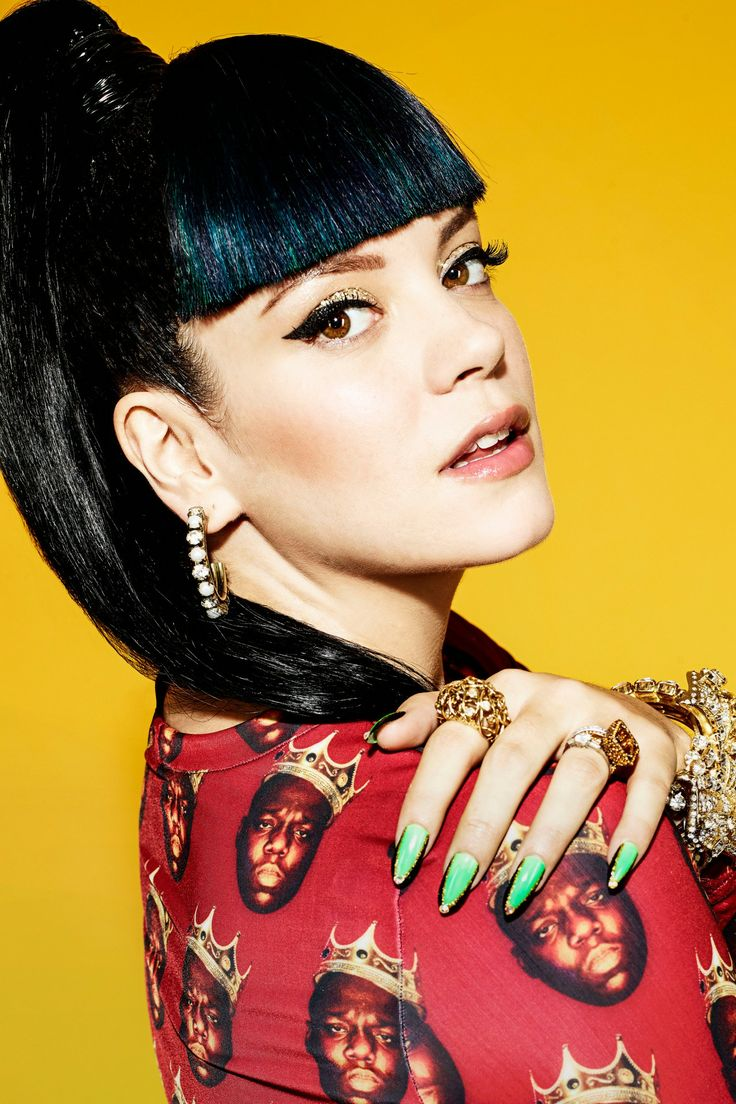 Lily Allen, singer, Vogue Festival speaker. Buy tickets to this year's Vogue Festival: http://www.vogue.co.uk/special-events/vogue-festival-2014/buy-tickets