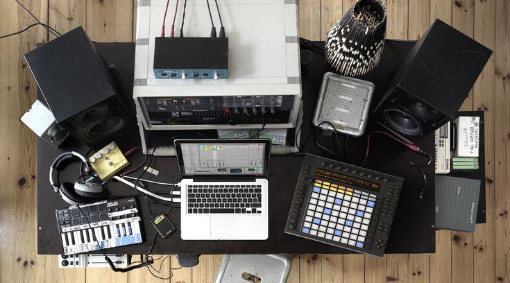 Ableton Push, Live and a nice setup