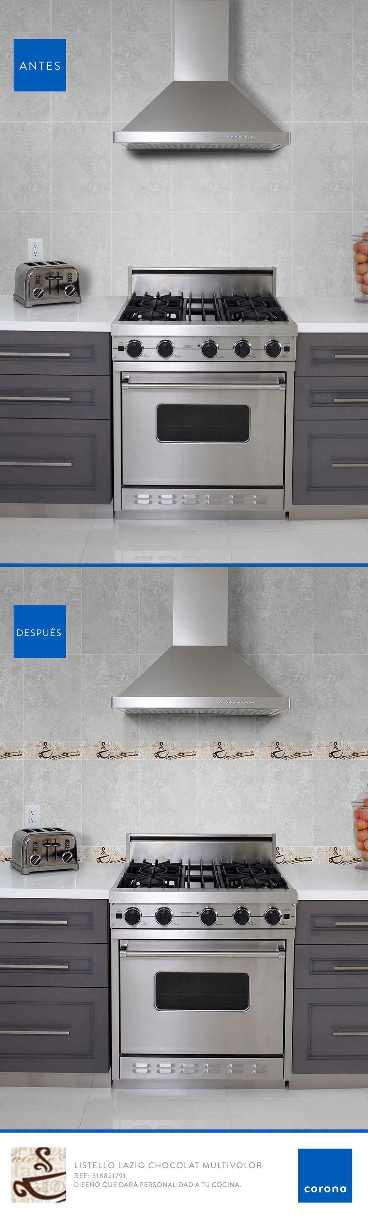 Con este decorado tendrás un cocina llena de estilo y personalidad.
