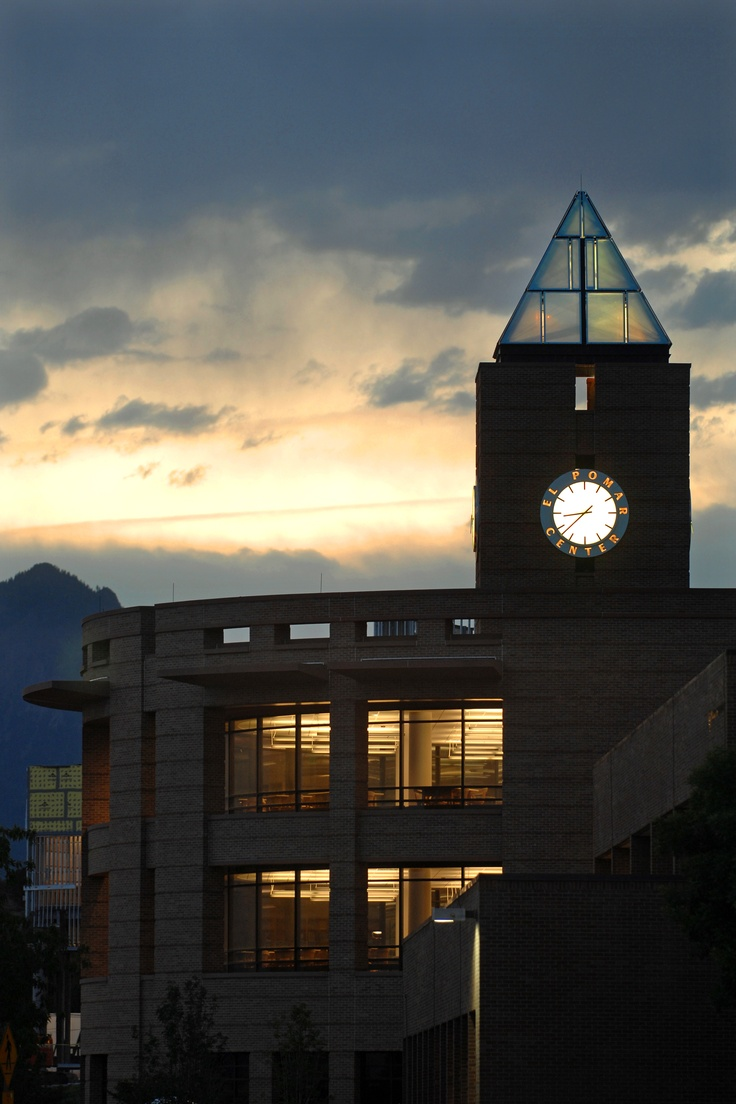 Sunset at UCCS  University of Colorado, Colorado Springs
