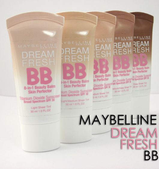 Maybelline Dream Fresh BB 8-in-1 Beauty Balm launches in June!!