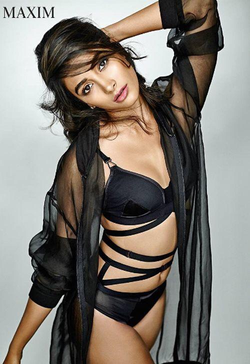 Pooja Hegde poses for Maxim