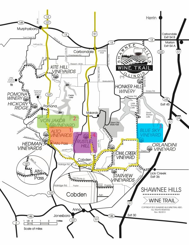 Southern Illinois Wine Trails