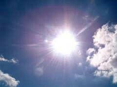 Un sole bianco. Freddo. Il sole dei morenti, ho pensato