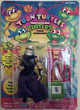 1992 Toon Shredder Very hard to find...