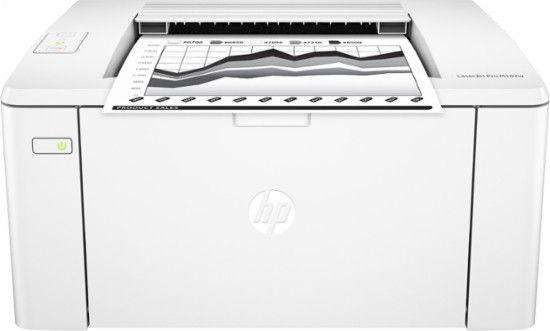 HP - LaserJet Pro M102w Black-and-White Wireless Printer - Front_Zoom