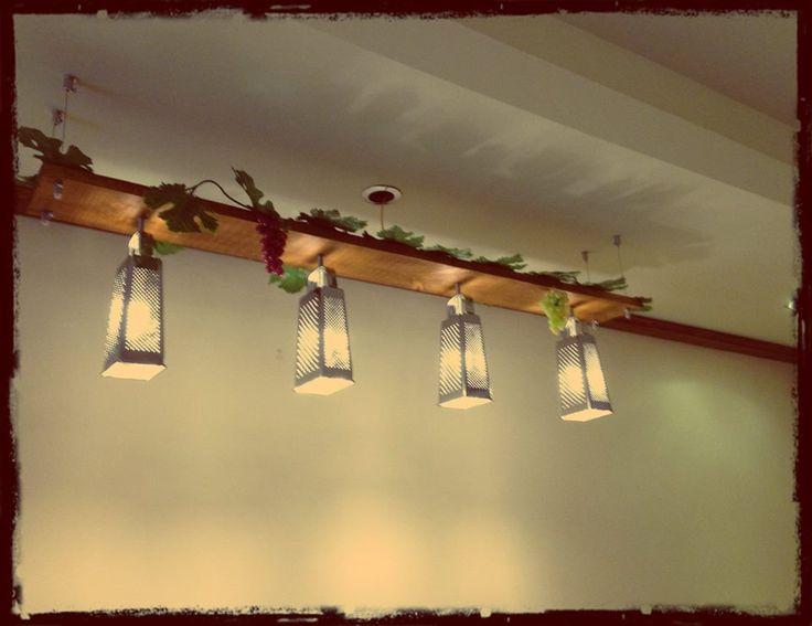 Custom made lighting...