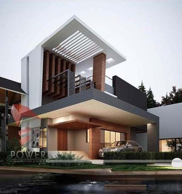 We Intend To Make Understandable And Visually Rich Home Elevation Designs To Transform Your Living Space Into A Luxurious Space Bungalow Design Modern Architecture Design Modern Architecture House