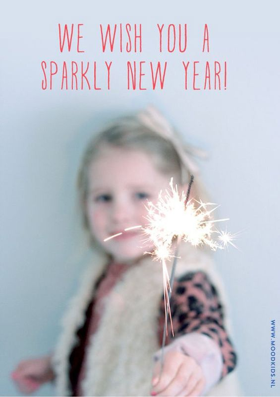 We wish you a sparkly New Year!
