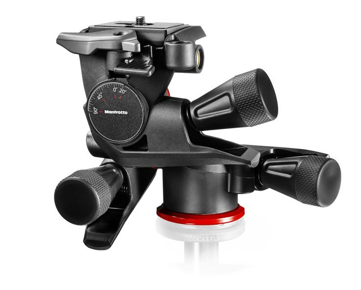 #Manfrotto XPRO Geared 3 Way #Head with Adapto Body