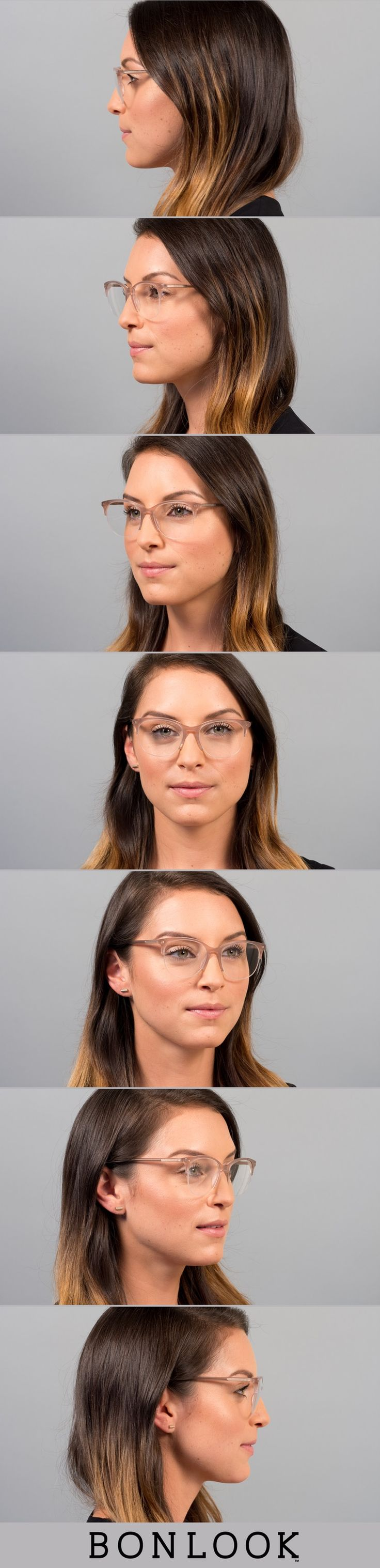 Nadine Light Pink mouse - See the lighter side of life with our new semi-rimless frames, available now for your favourite Nadine glasses. Designed by Maripier Morin, the collection represents the perfect balance between style and trends. Named in honor of Maripier's young nieces, it's a feminine collection with frames that make a statement. You won't go unnoticed when you wear them. *Semi-rimless frames can only be fitted to prescriptions with a sphere (SPH) value between -6.00