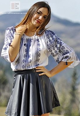 embroidered bohemian top