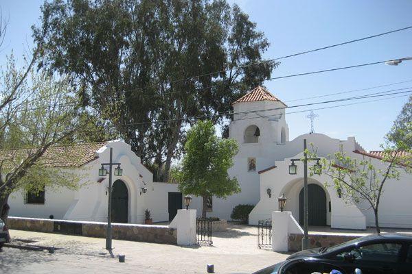 Chacras de Coria Church (Photo: Mariel Matze). To learn more about #Mendoza click here: http://www.greatwinecapitals.com/capitals/mendoza