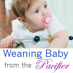 At 24 months yet? Advice on weaning baby from the pacifier