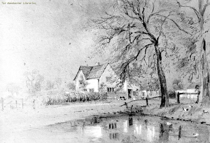 Moss Side farm (Pepperhill?) and pond 1895