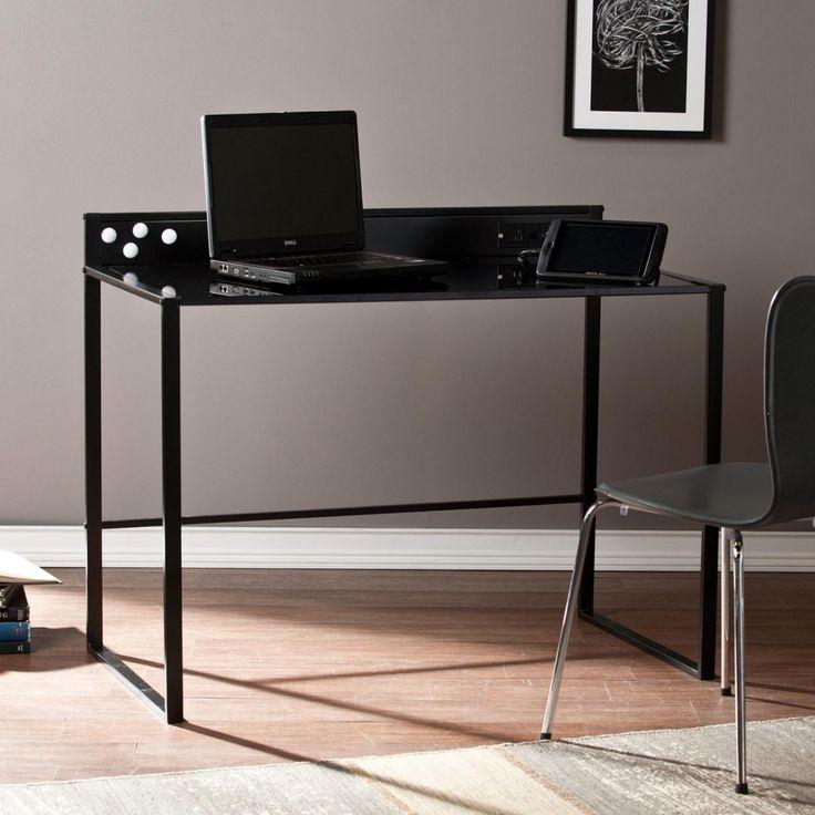 metall und glas schreibtisch mit ashley mbel home office berprfen sie mehr unter http - Herman Miller Umhllen Schreibtisch