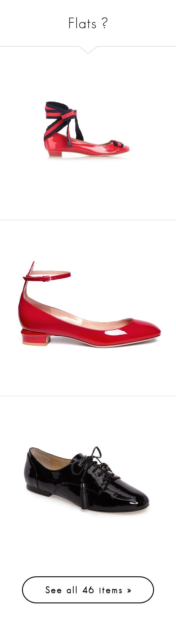 """""""Flats ♡"""" by gejsjahw ❤ liked on Polyvore featuring shoes, pumps, red, chunky-heel pumps, red lace up pumps, red shoes, laced up shoes, thick-heel pumps, heels and tan patent leather pumps"""