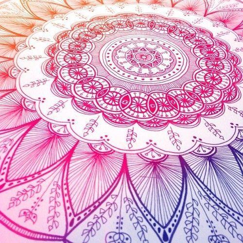 art, drawing, hindu, mandala, wallpaper, zentangle   Art ...   500 x 500 jpeg 85kB