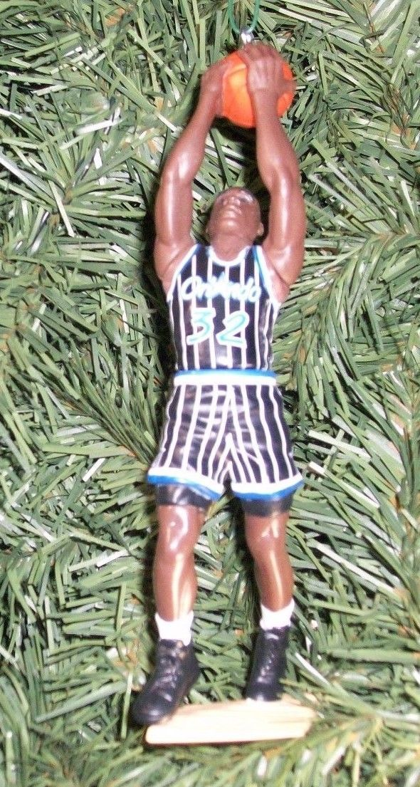 Shaquille ONeal ORLANDO MAGIC  Christmas tree Ornament NBA basketball figure