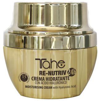 Tahe RE-NUTRIV  Ενυδατική κρέμα προσώπου Misturising Cream with Hyaluronic Acid!