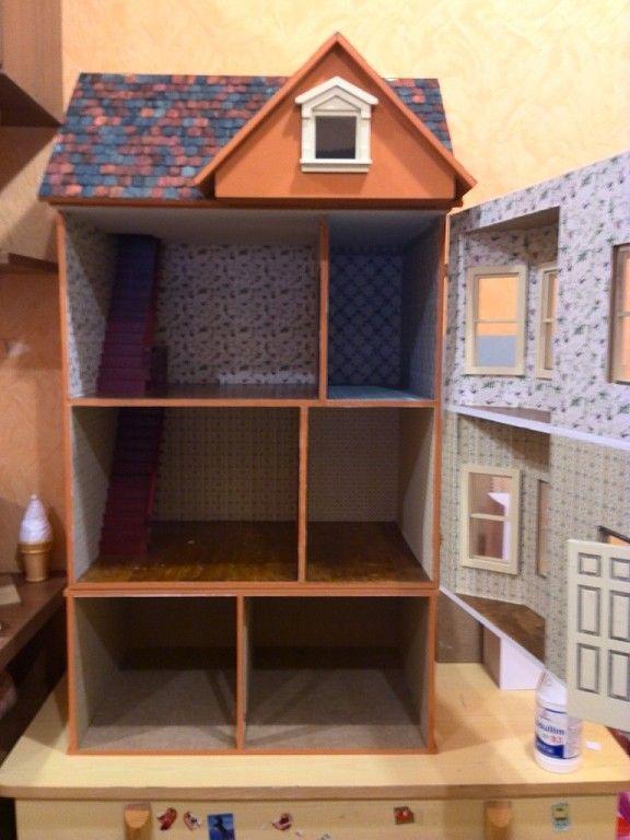 Кукольные домики, домики для кукол, кукольная миниатюра, дом мечты.