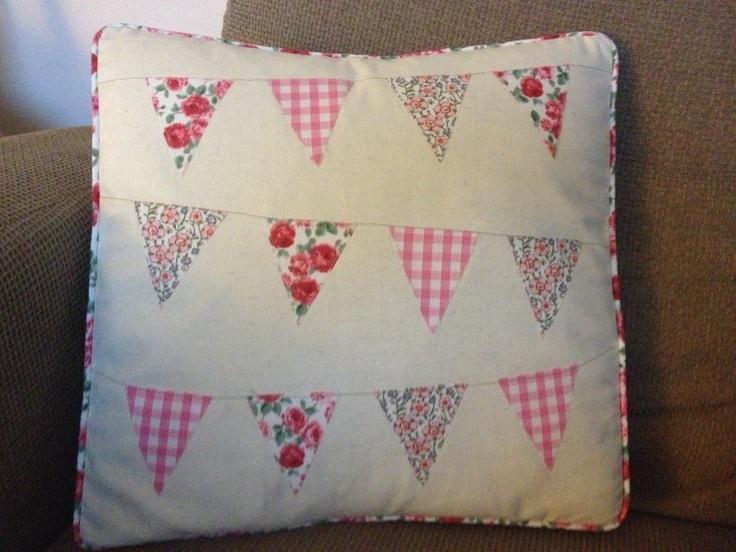 Bunting Cushion x