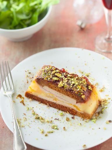 Recette d'Opéra de foie gras